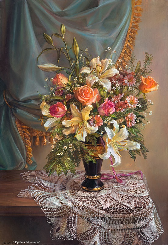 Картинки по запросу mailingart wooden framed paint by number flowers no blending / no mixing linen canvas diy painting - weimei flower